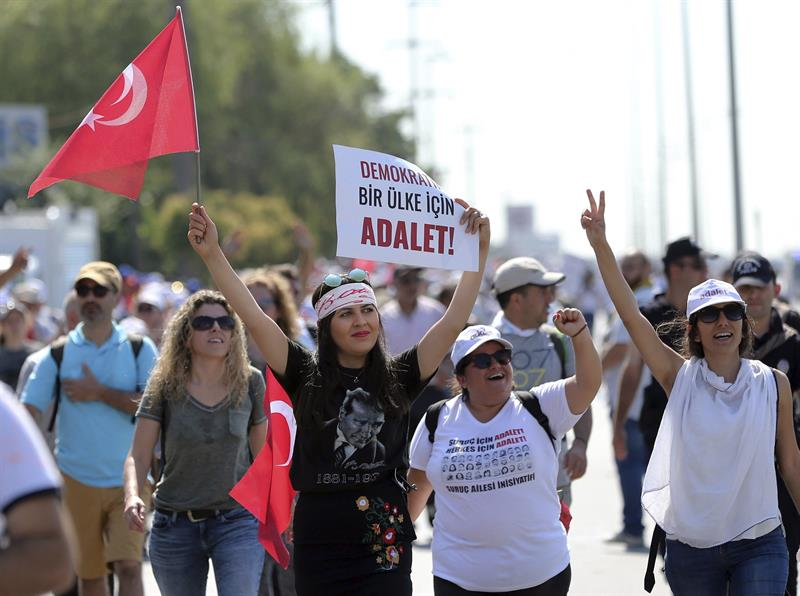 Kilicdaroglu, Estambul, Marcha Contra Gobierno, Tayyip Erdogan, Ankara