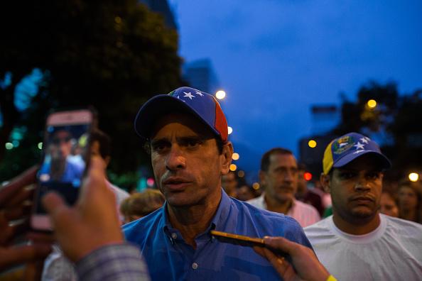 Oposición venezolana, Henrique Capriles, Venezuela, Nicolas Maduro, Caracas