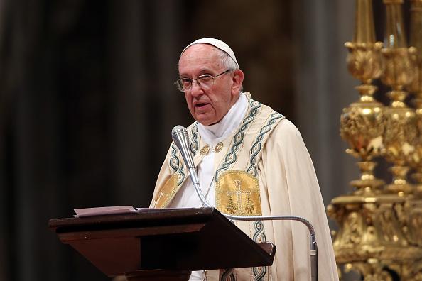 Papa Francisco, consistorio, Basílica de San Pedro, Vaticano, Misa