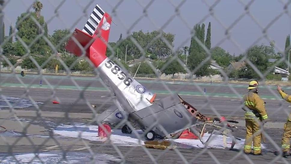 Accidente aéreo, se estrella avioneta, aeropuerto, El Monte, California