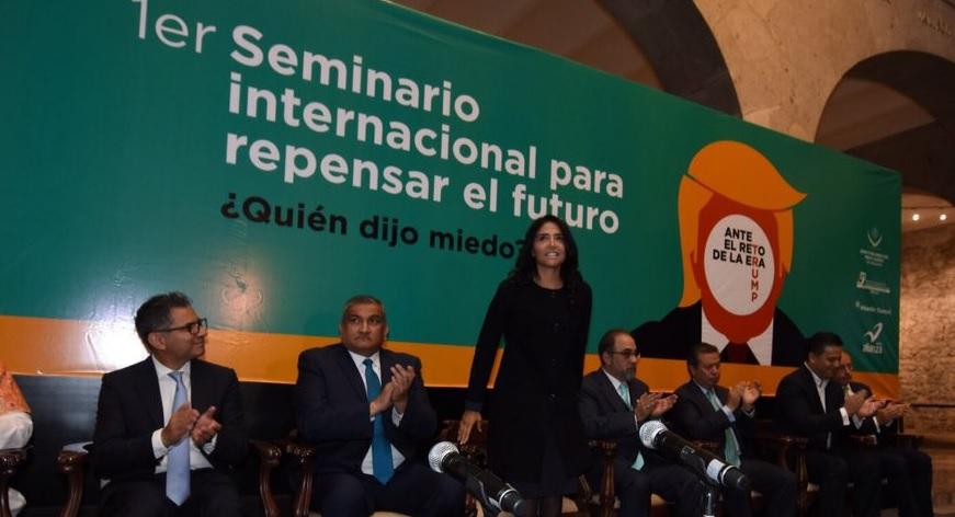 Alejandra Barrales, Prd, Politica, Seminario, Cdmx