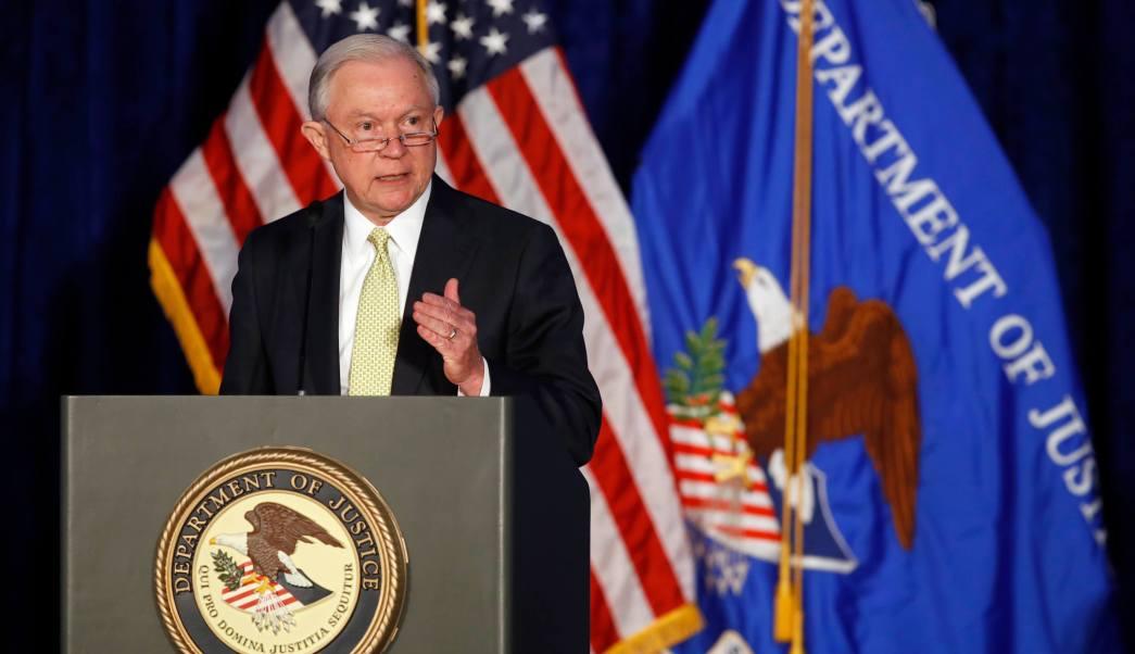 Fiscal general, Estados Unidos, Jeff Sessions, Departamento de Justicia, Guantánamo