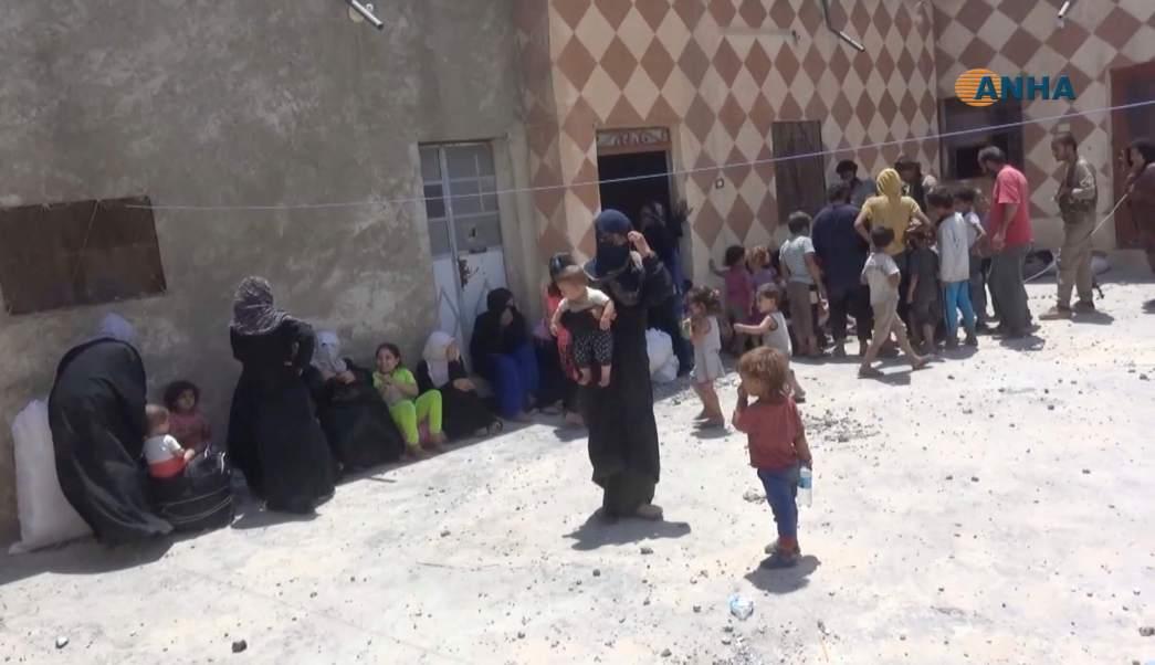 Alto el fuego, residentes, Raqqa, Siria, sirios