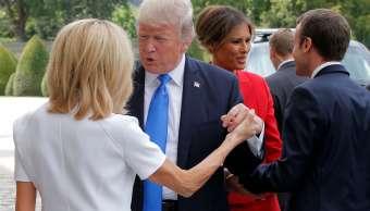 Estados Unidos, Donald Trump, Brigitte Macron, esposa, Francia