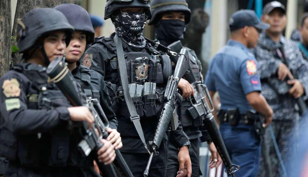 Redada Antidroga Filipinas Policias Armas Ejercito