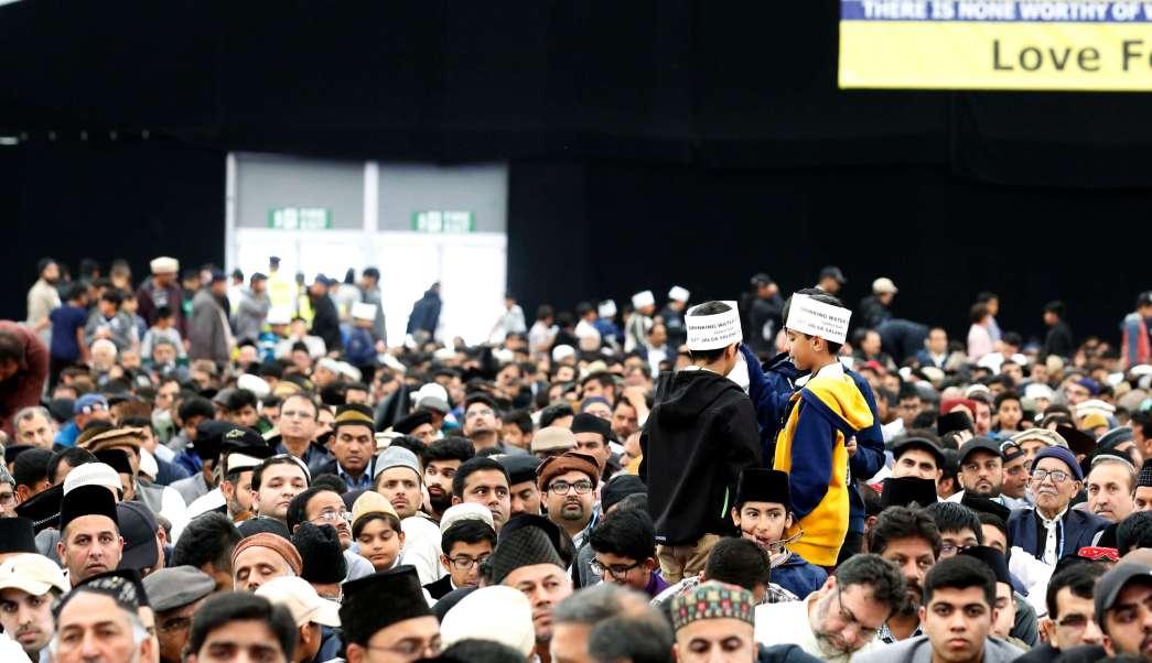 Hampshire Inglaterra Musulmanes Califa Conveción Religiosa