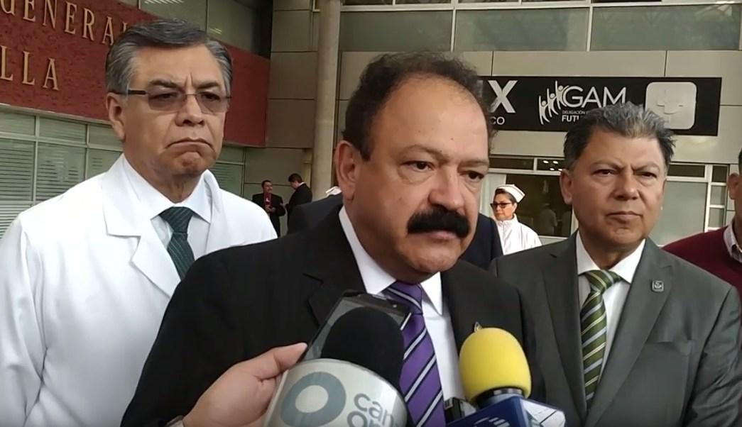 Armando Ahued recorrió el Hospital General La Villa (SSA CDMX)