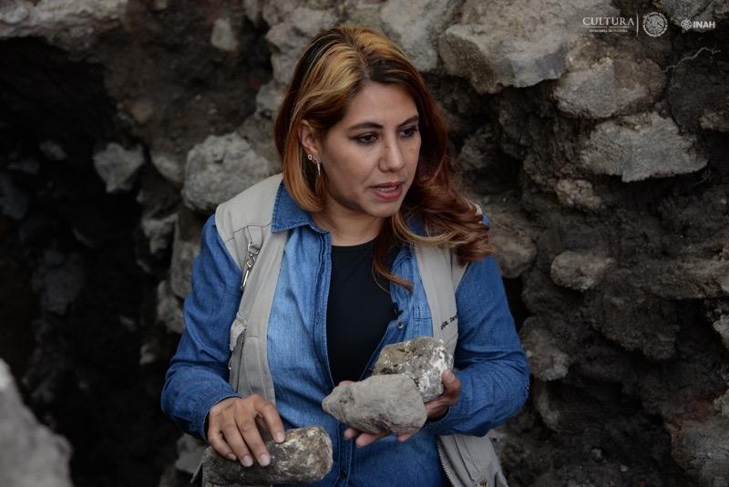 Arqueóloga Donají Montero sobre el salvamento arqueológico