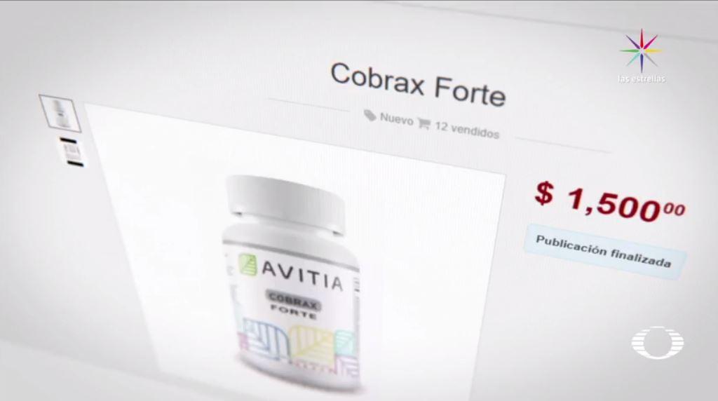 Avitia, Cobrax, Facebook, adelgazar, Cofepris, salud, nutrición