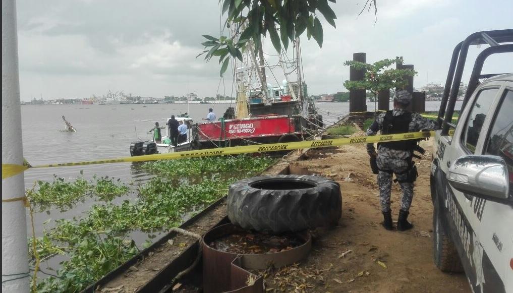 Embarcacion, Barco Camaronero, Accidente, Medio Ambiente, Veracruz,
