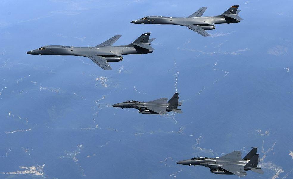 Guerra Mundial, Pyongyang, Provocacion, Bombarderos, Norcorea, EU, Guerra, Pyongyang