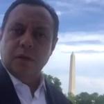 El diputado Braulio Guerra demandó a Trump. (Twitter Braulio Guerra)