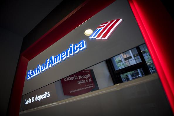 Cajero automático de Bank of America