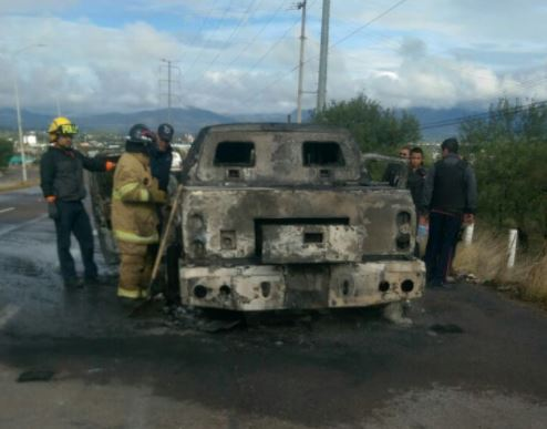 Camioneta De Valores, Incendio En Zacatecas, Fuego Quema Dinero, Municipio De Jerez, Noticias