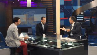 Carlos Loret, Roberto Gil Zuarth y Juan Pardinas