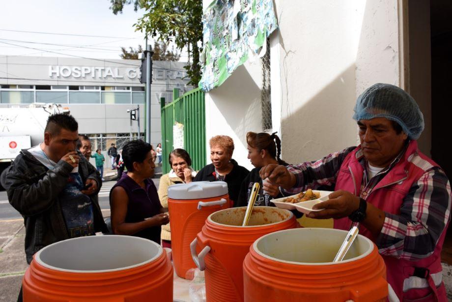 CDMX atiende a 3 mil 500 personas afectadas por lluvias