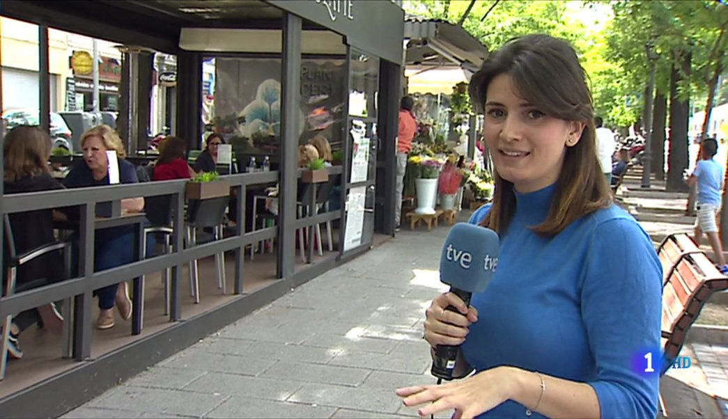Mar Chércoles, Televisión Española, reportera, nervios