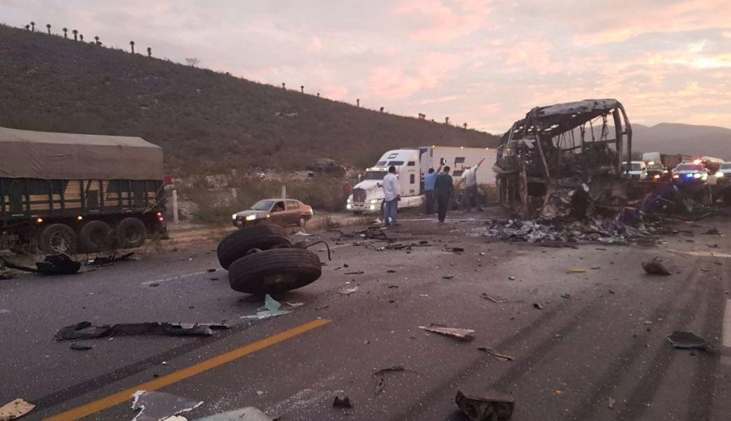 El accidente se registró en la carretera 850 Tula-Ciudad Victoria (Noticieros Televisa)