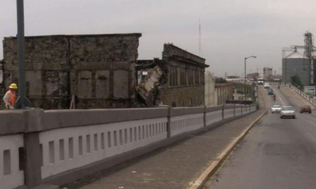 colapsa edificio antiguo en veracruz