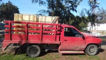 Combustible Asegurado, Puebla, Decomiso, Huachicoleros, Seguridad