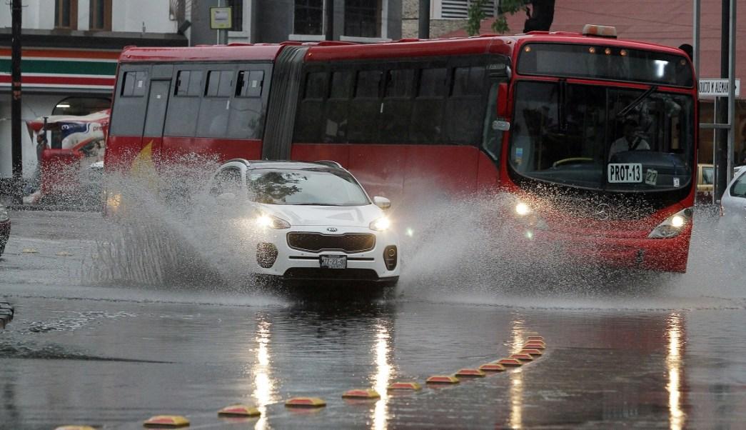 Continúan las lluvias en la CDMX. (Notimex Archivo)