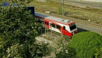 Convoy de tren suburbano de la Ciudad de México