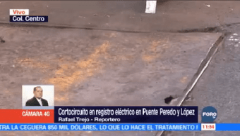 Cortocircuito Mufa Centro Histórico Lesiona Una Persona
