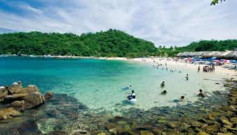 Playas, Oaxaca, Limpias, Costas, Turistas, Vacaciones, Contaminantes, Verano