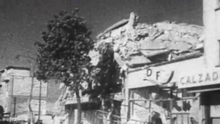 Sismo, Terremoto, Temblor, 1957, Ciudad de México, escombros