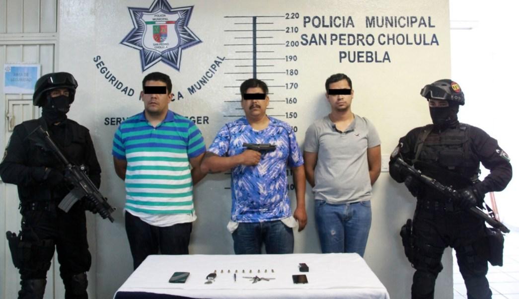 Detienen a Aníbal Garma López. (Twitter Morán de la Mora)