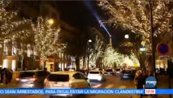 Ambiente Navideño Vive Calles París