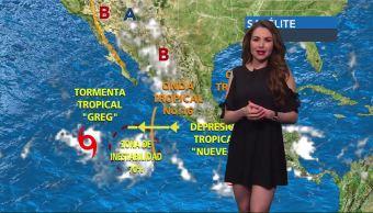Clima, Sábado, Mayte Carranco, Lluvia Temperatrura, Sábado