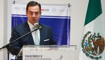 El director general de ProMéxico Paulo Carrenio King