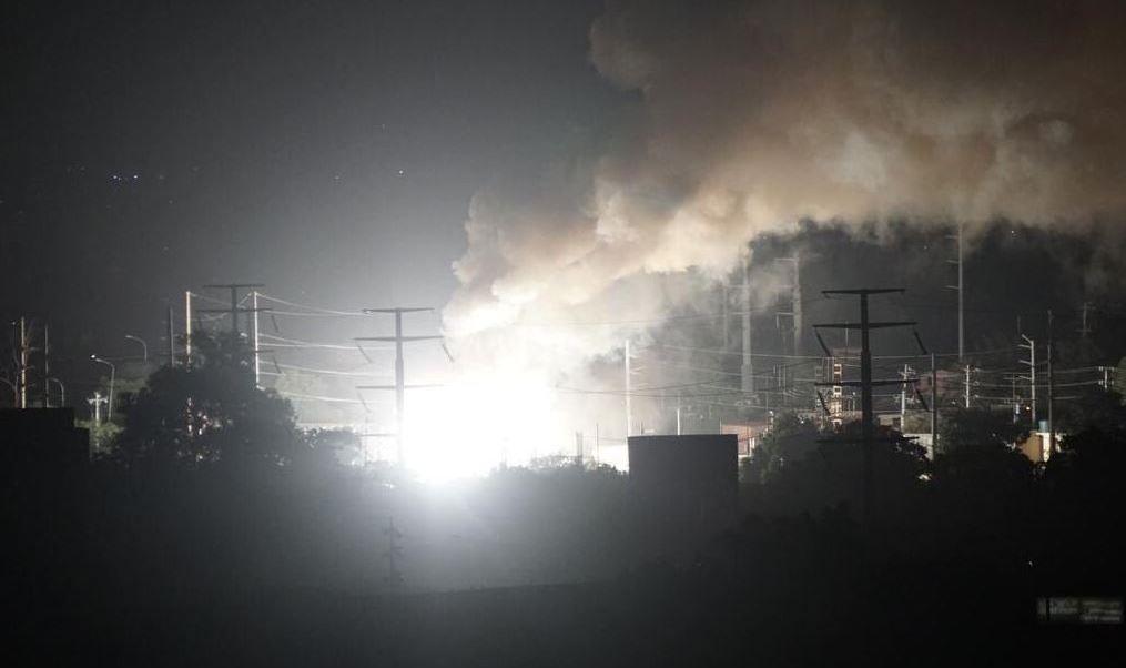 Explosión, subestación eléctrica Miranda, Venezuela, electricidad, ataque