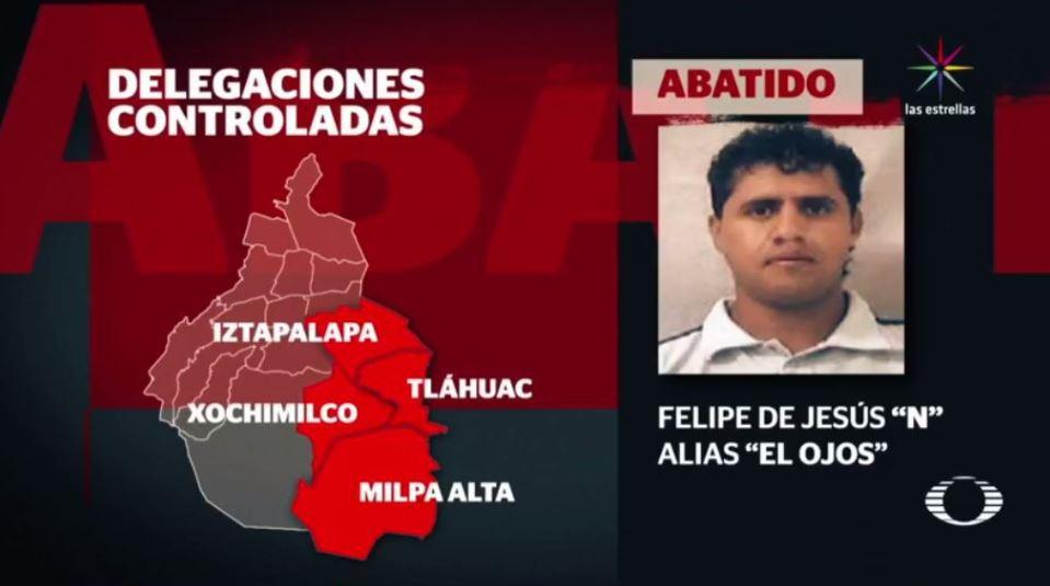 Felipe De Jesus Perez Luna, El Ojos, Delegacion Tlahuac, Enfrentamiento, Elementos Federales, Marina