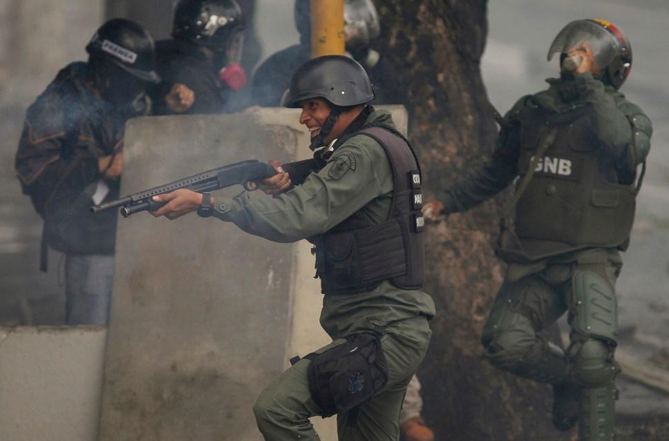 Protestas y represión en las elecciones de Venezuela