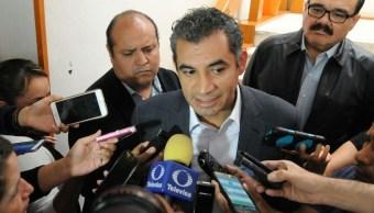 Enrique Ochoa, presidente del PRI. ( Twitter Enrique Ochoa)