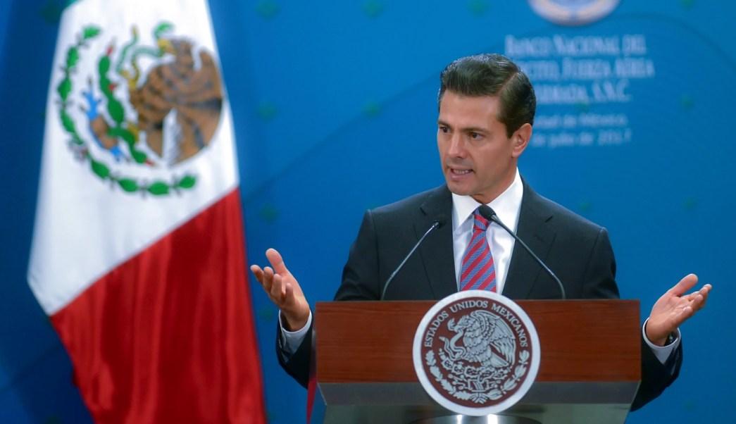 Enrique Peña Nieto, presidente de México. (Presidencia de la República)
