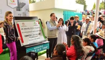 Eruviel Avila, Estado de Mexico, Edomex, Politica, Salud