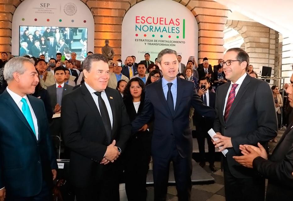 Aurelio Nuño aseguró que el cambio de México depende la educación. (SEP)
