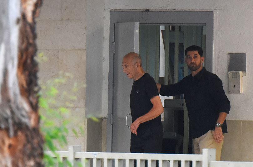 Exprimer Ministro Israelí, Ehud Olmert, Corrupción, Prisión, Prisión, Delitos, Benjamin Netanyahu