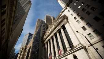 Fachada de la Bolsa de Valores de Nueva York