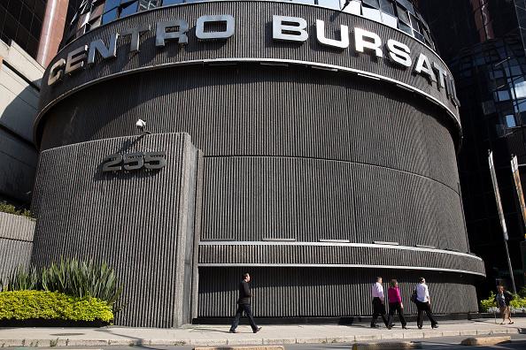 Bolsa Mexicana Valores hila sesiones baja
