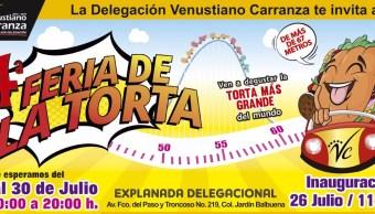 Guía, vacaciones, Feria de la Torta, verano, Fin de semana, vacaciones