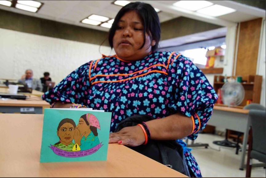 Mujeres rarámuris aprenden sobre sus derechos para no sufrir violencia
