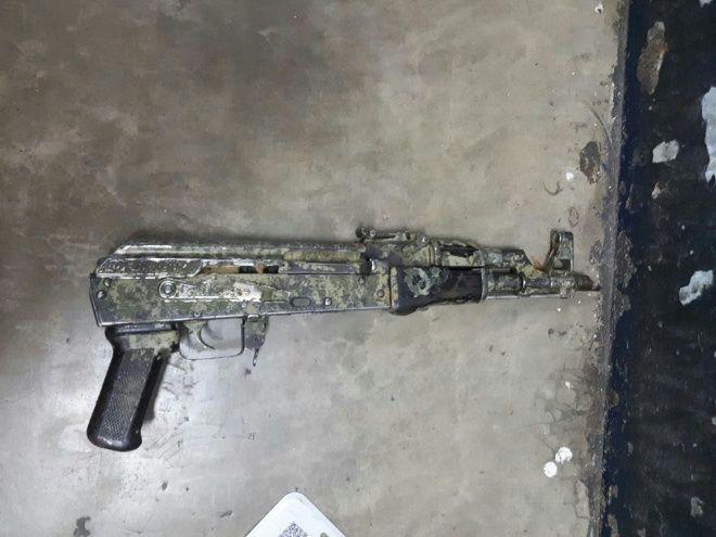 Fusil AK47 decomisado en Mazatlán, Sinaloa