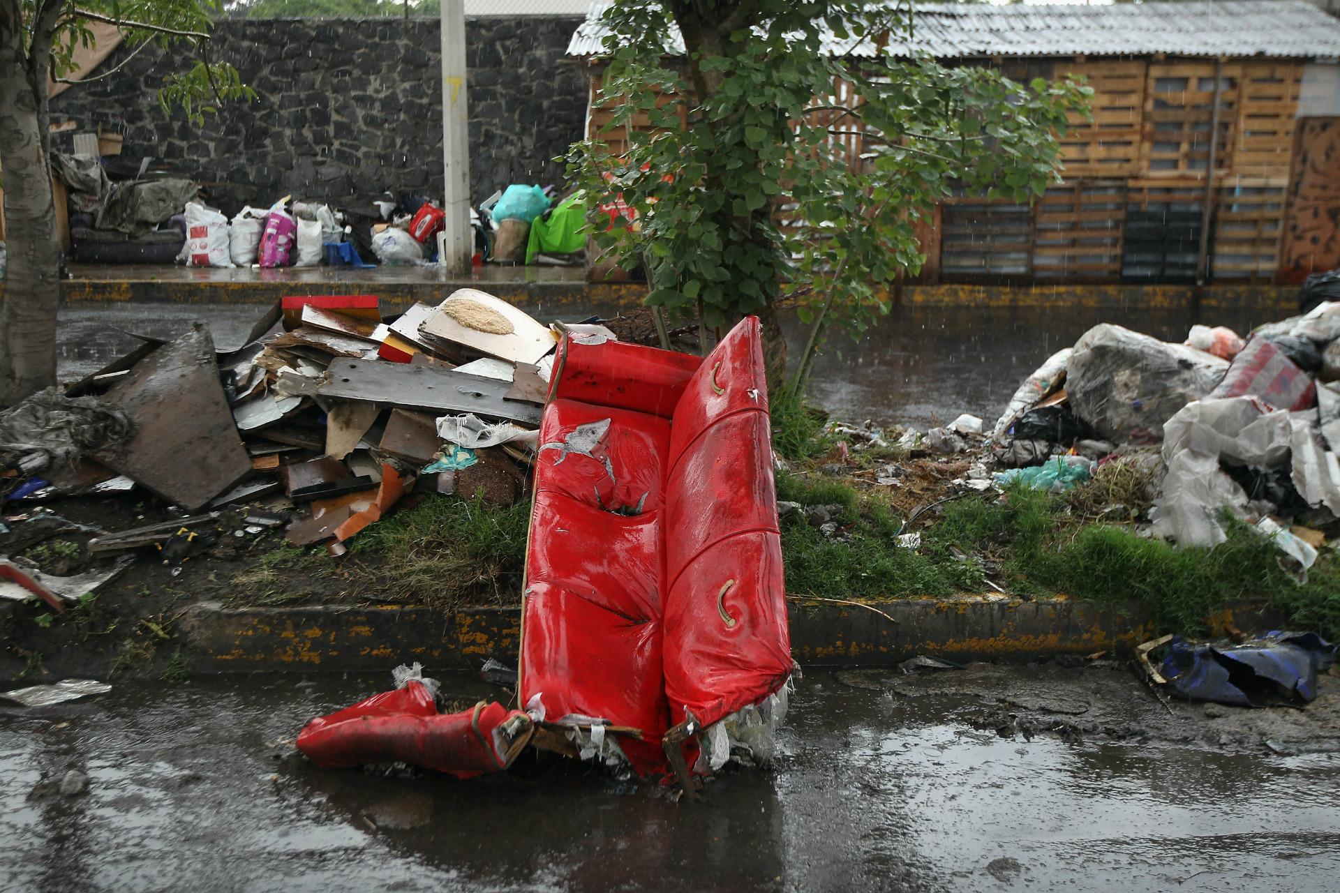 ciudad de méxico, basura, bordo, microplásticos