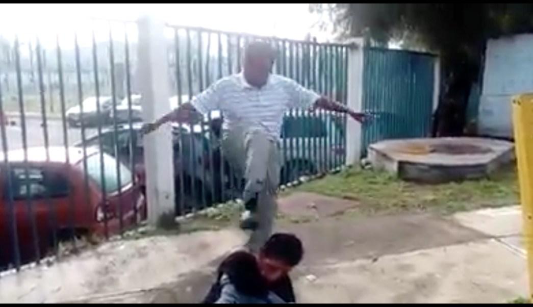 estado de méxico, Ecatepec,asaltante, golpiza, robar, combis