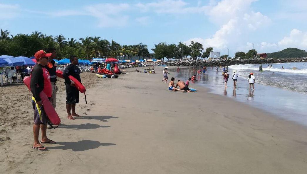 Playas Guerrero Mar Fondo Acapulco Puerto