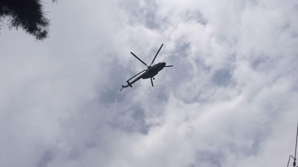 Helicoptero, Seguridad, Fuerzas Federales, Operativo, Violencia, Tlahuac